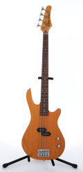 Musical Instruments:Bass Guitars, Schecter C.E.T. Natural 4-String Electric Bass Guitar #N/A....