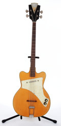 Musical Instruments:Bass Guitars, 1960s Kay Pro Natural 4-String Electric Bass Guitar # N/A....