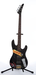 Musical Instruments:Bass Guitars, Epiphone By Gibson Jazz Black Electric Bass Guitar # N/A...