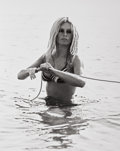 Photographs, RON GALELLA (American, b. 1931). Brigitte Bardot Swimming in St. Tropez, France, 1968. Gelatin silver, 2007. 20 x 16 inc...