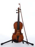Musical Instruments:Violins & Orchestra, Vintage No Name Natural Violin # N/A....