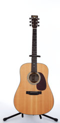 Musical Instruments:Acoustic Guitars, 1996 Martin MTV-1 Unplugged Natural Acoustic Guitar #572852....