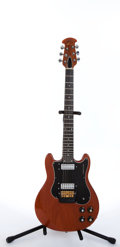 Musical Instruments:Electric Guitars, 1976 Ovation Preacher 1282 Natural Electric Guitar #E6505....