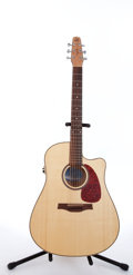 Musical Instruments:Acoustic Guitars, 2003 Seagull Performer CW Natural Electric Acoustic Guitar#032464000699....