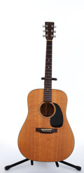 Musical Instruments:Acoustic Guitars, 1976 Martin D-18 Natural Acoustic Guitar #377981....