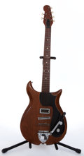 Musical Instruments:Electric Guitars, 1970s Gretsch Corvette Natural Electric Guitar #N/A....
