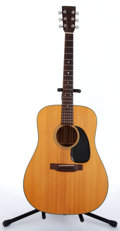 Musical Instruments:Acoustic Guitars, 1973 Martin D-18 Natural Acoustic Guitar #318353...