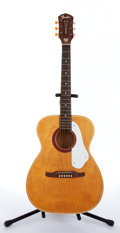 Musical Instruments:Acoustic Guitars, Fender F-70 Natural Acoustic Guitar #9985 1010....