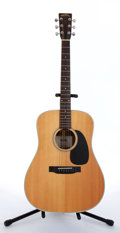 Musical Instruments:Acoustic Guitars, 1970s Sigma By Martin 52-SDR-7 Natural Acoustic Guitar #29185....