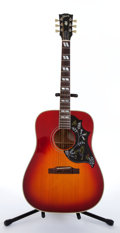 Musical Instruments:Acoustic Guitars, 1992 Gibson Hummingbird VCS Sunburst Acoustic Guitar #93432016....