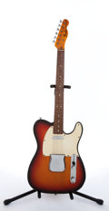 Musical Instruments:Electric Guitars, 1972 Fender Telecaster Sunburst Electric Guitar #364874....