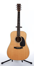 Musical Instruments:Acoustic Guitars, 1985 Martin D-28 Natural Acoustic Guitar #454468....