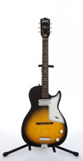 Musical Instruments:Electric Guitars, Vintage Harmony H45 Stratotone Sunburst Electric Guitar # N/A....