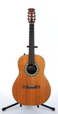 Musical Instruments:Acoustic Guitars, Ovation 1616-4 Classical Natural Electric Acoustic Guitar #095498....