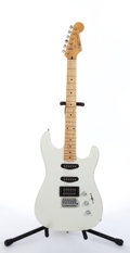 Musical Instruments:Electric Guitars, 1979 Squier By Fender White Stratocaster II Electric Guitar#S950187....