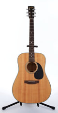 Musical Instruments:Acoustic Guitars, Recent Sigma by Martin DM-18 Natural Acoustic Guitar, Serial #ES27112. ...