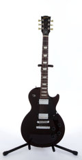 Musical Instruments:Electric Guitars, 1995 Gibson Les Paul Wine Studio Electric Guitar, Serial #92005545....