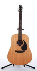 Musical Instruments:Acoustic Guitars, Seagull SM-6 Natural Acoustic Guitar #57303....