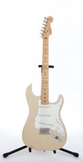 Musical Instruments:Electric Guitars, 2002 Fender Stratocaster Blonde Electric Guitar #Z2136255....