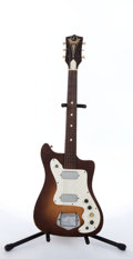 Musical Instruments:Electric Guitars, 1960s Kay K-100 Tobacco Burst Electric Guitar....