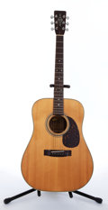 Musical Instruments:Acoustic Guitars, 1970s Alvarez Acoustic Natural Guitar...