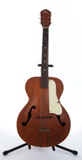 Musical Instruments:Acoustic Guitars, 1950s Kay Archtop Natural Acoustic Guitar....