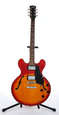 Musical Instruments:Electric Guitars, 1980s Phantom Sunburst Semi-Hollow Body Electric Guitar, Serial #880509593....
