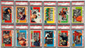Football Cards:Sets, 1955 Topps All-American PSA-Graded Partial Set (33/100) With SPs,Rockne & Four Horsemen. ...