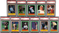 Golf Cards:General, 1981 Donruss Golf PSA-Graded Near Set (64/66). All NM-MT 8 or Mint 9. ...