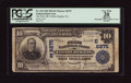 National Bank Notes:Pennsylvania, Clifton Heights, PA - $10 1902 Plain Back Fr. 635 The First NB Ch.# (E)6275. ...