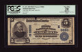 National Bank Notes:Pennsylvania, Lake Ariel, PA - $5 1902 Plain Back Fr. 601 The First NB Ch. #(E)9886. ...