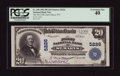 National Bank Notes:West Virginia, Saint Marys, WV - $20 1902 Plain Back Fr. 658 The First NB Ch. #5226. ...