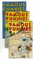 Golden Age (1938-1955):Miscellaneous, Famous Funnies File Copies Group (Eastern Color, 1945-48) Condition: Average VF+.... (Total: 7 Comic Books)