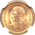 Commemorative Gold, 1905 G$1 Lewis and Clark MS66+ NGC....