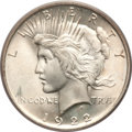 Peace Dollars, 1922 $1 MS67 PCGS. CAC....