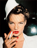 Photographs:Contemporary, ROXANNE LOWIT (American, b. 1970). Kate Moss with Fag inGalliano, Paris, 1994. Chromogenic, printed later. Paper: 24 x...