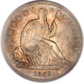 Seated Half Dollars, 1839 50C No Drapery MS64 PCGS. CAC....