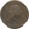 Large Cents, 1793 Chain 1C Periods VG8 NGC. S-4, B-5, R.3....