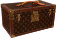 "Luxury Accessories:Travel/Trunks, Louis Vuitton Classic Monogram 40cm Train Case with Mirror, 16"" x8"" x 9"", Excellent Condition . ..."