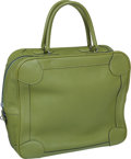 "Luxury Accessories:Bags, Hermes Vert Chartreuse Clemence Leather Omnibus GM Bag, 13"" x 11.5""x 5"", Excellent Condition. ..."