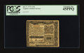 Colonial Notes:Virginia, Virginia July 17, 1775 1s 3d PCGS Extremely Fine 45PPQ.. ...