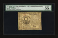 Colonial Notes:Continental Congress Issues, Continental Currency November 2, 1776 $30 PMG About Uncirculated 55EPQ.. ...