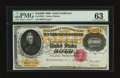 Large Size:Gold Certificates, Fr. 1225h $10000 1900 Gold Certificate PMG Choice Uncirculated 63.....