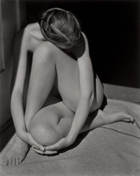 EDWARD WESTON (American, 1886-1958) Nude, 1936 Gelatin silver, printed later by Cole Weston 9-1/