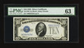 Small Size:Silver Certificates, Fr. 1700 $10 1933 Silver Certificate. PMG Choice Uncirculated 63.. ...