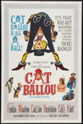 """Movie Posters:Comedy, Cat Ballou (Columbia, 1965). One Sheet (27"""" X 41""""). Comedy.. ..."""