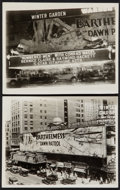 """Movie Posters:War, The Dawn Patrol (First National, 1930). Photos (2) (8"""" X 10"""").War.. ... (Total: 2 Items)"""