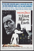 """Movie Posters:Science Fiction, The Last Man on Earth (American International, 1964). One Sheet (27"""" X 41""""). Science Fiction.. ..."""
