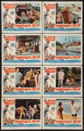 """Movie Posters:Comedy, Donovan's Reef (Paramount, 1963). Lobby Card Set of 8 (11"""" X 14""""). Comedy.. ... (Total: 8 Items)"""