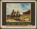 """Movie Posters:Western, The Searchers (Warner Brothers, 1956). Lobby Card (11"""" X 14""""). Western.. ..."""